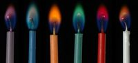 Свечи разных цветов для магических ритуалов