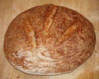 Круглый хлеб для приворота