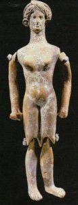 Глиняная кукла