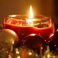 Свеча на Рождество